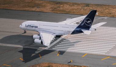 Lufthansa, Airbus A380, Storage Delay