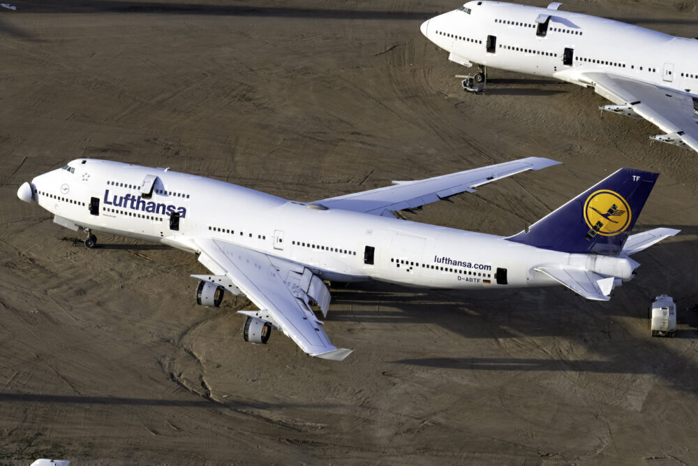 Lufthansa Retired Boeing 747-400