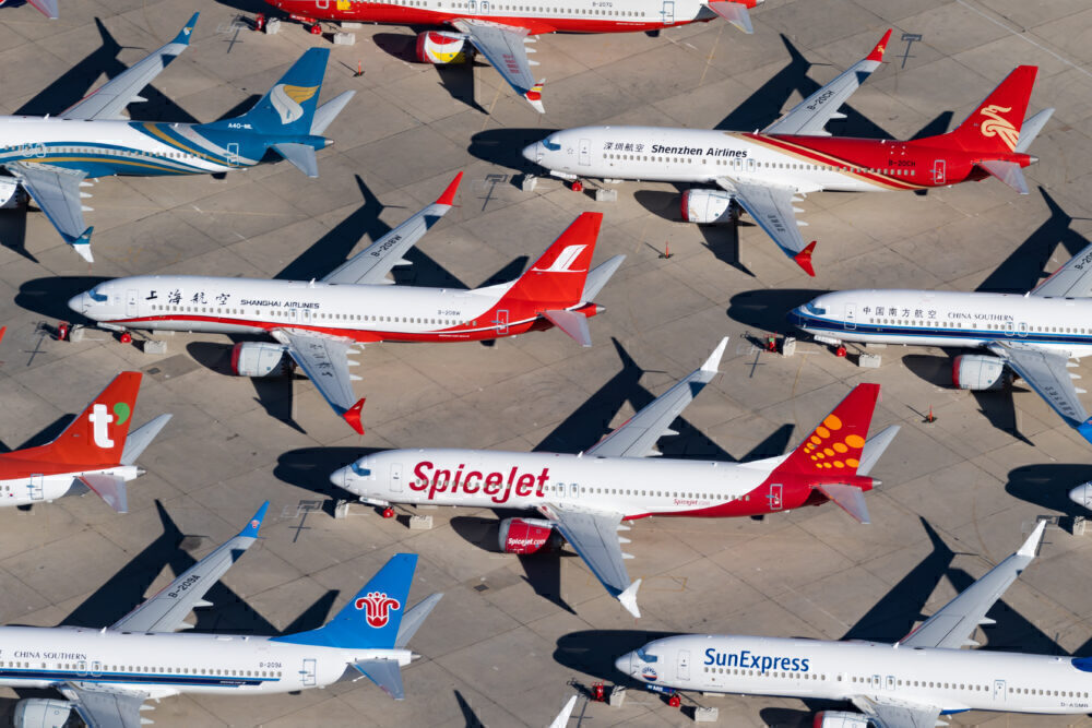 Multiple Airlines Boeing 737 MAX 8 (2)