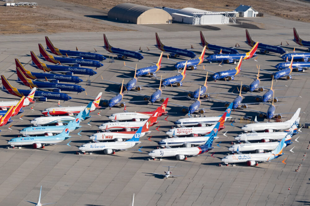 Multiple Airlines Boeing 737 MAX 8 (3)