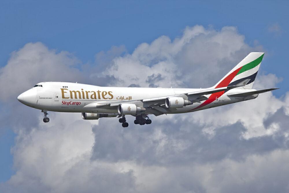 Emirates 747F
