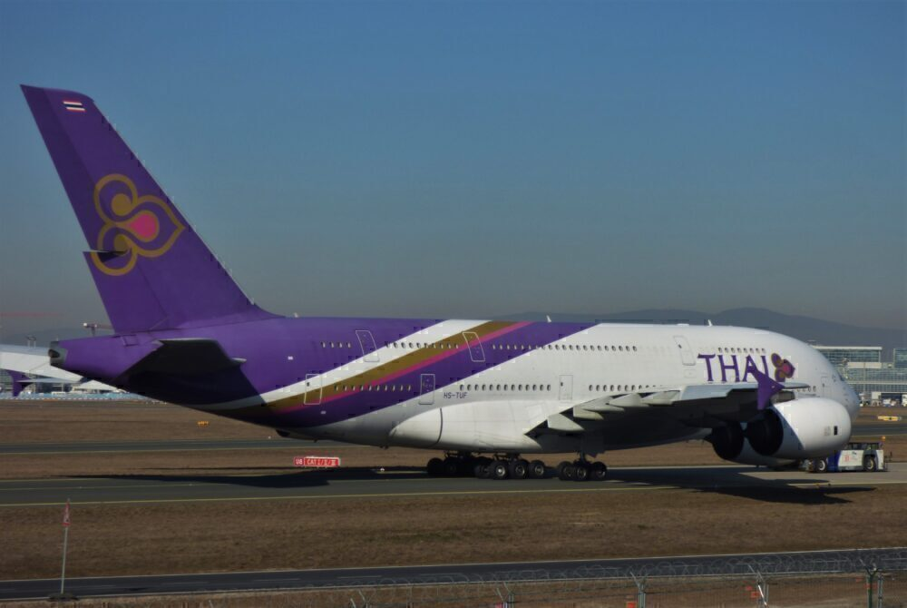 Thai Airways Airbus A380 Frankfurt