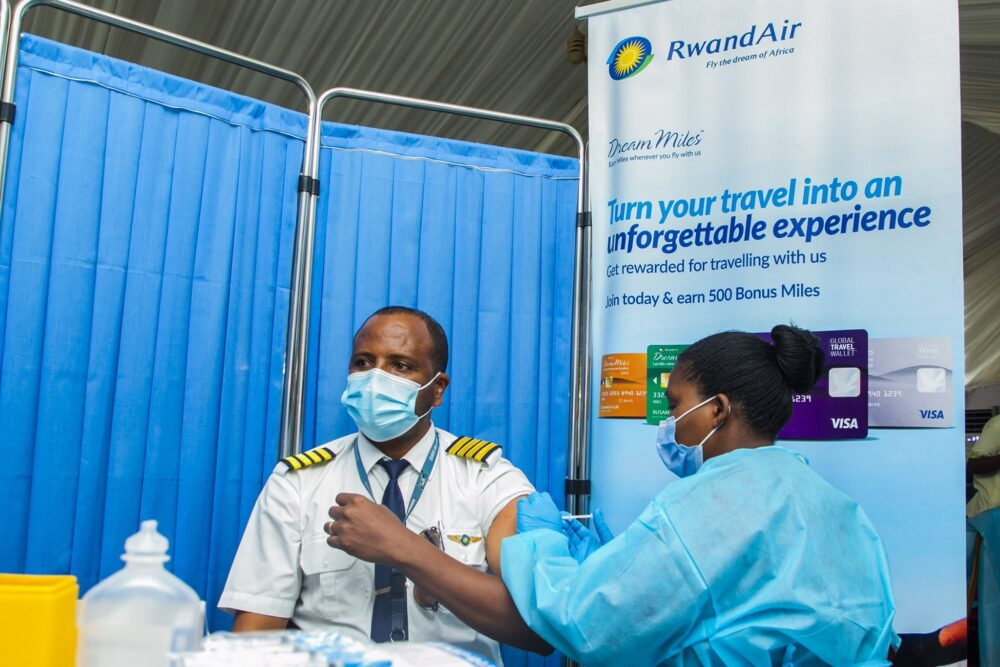 Rwandair vaccination