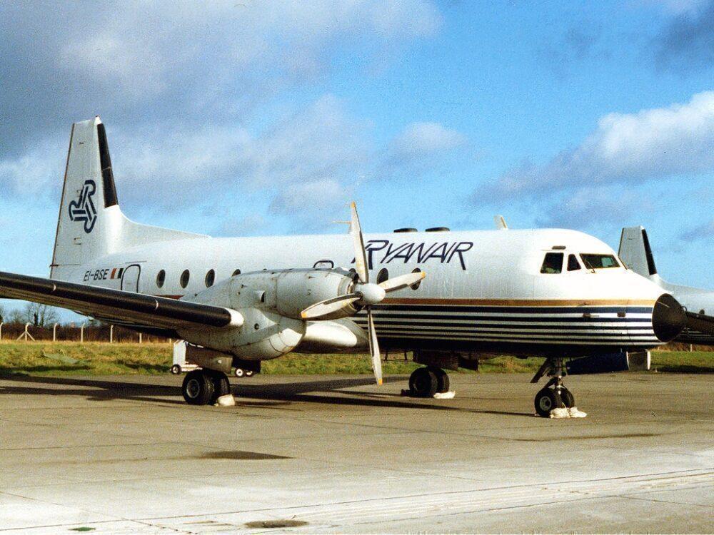 Ryanair Hawker Siddeley HS 748