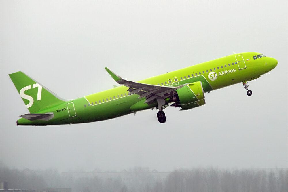 S7 Airlines Pilots Shut A320neo Engine Down Departing Novosibirsk