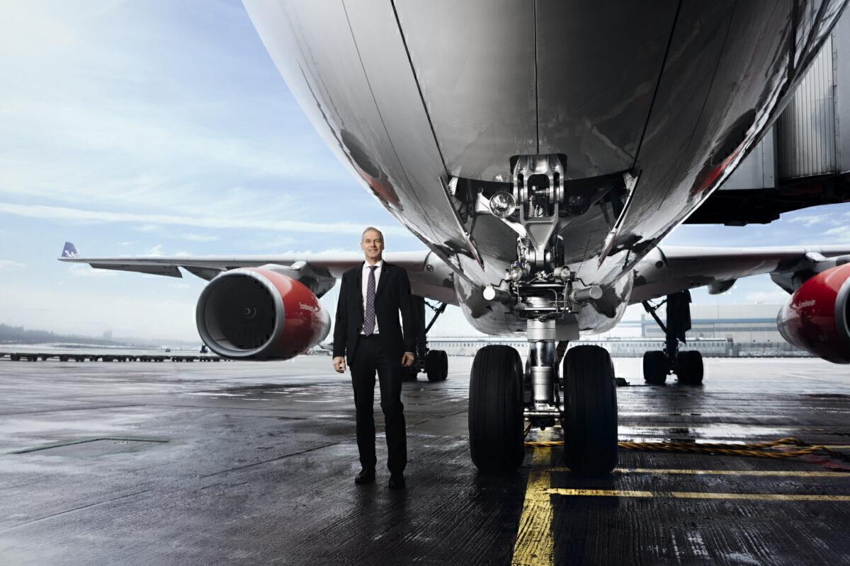 SAS CEO Rickard Gustafson