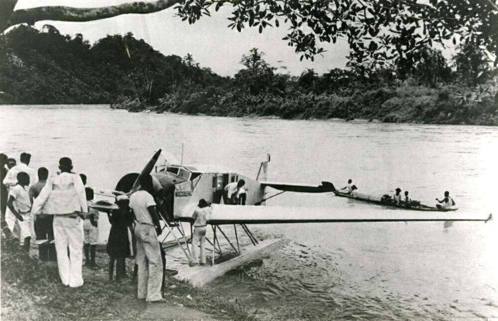 Junkers float plane