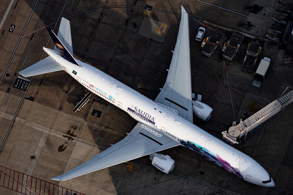 Saudia Boeing 777