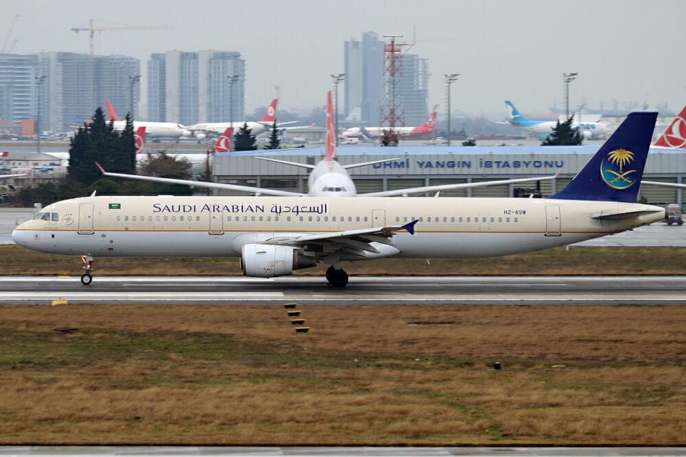 Saudia A321