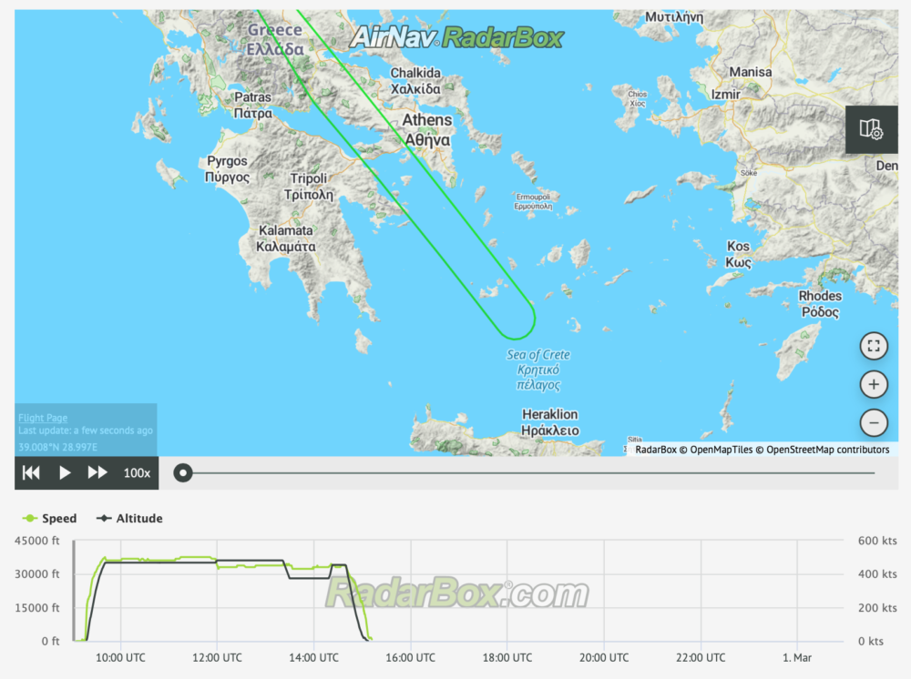 KLM Boeing 777 Operates Six Hour Flight To Nowhere After Bird Strike