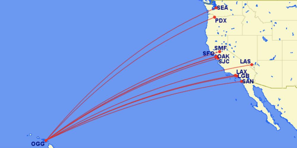 Hawaiian Maui flights