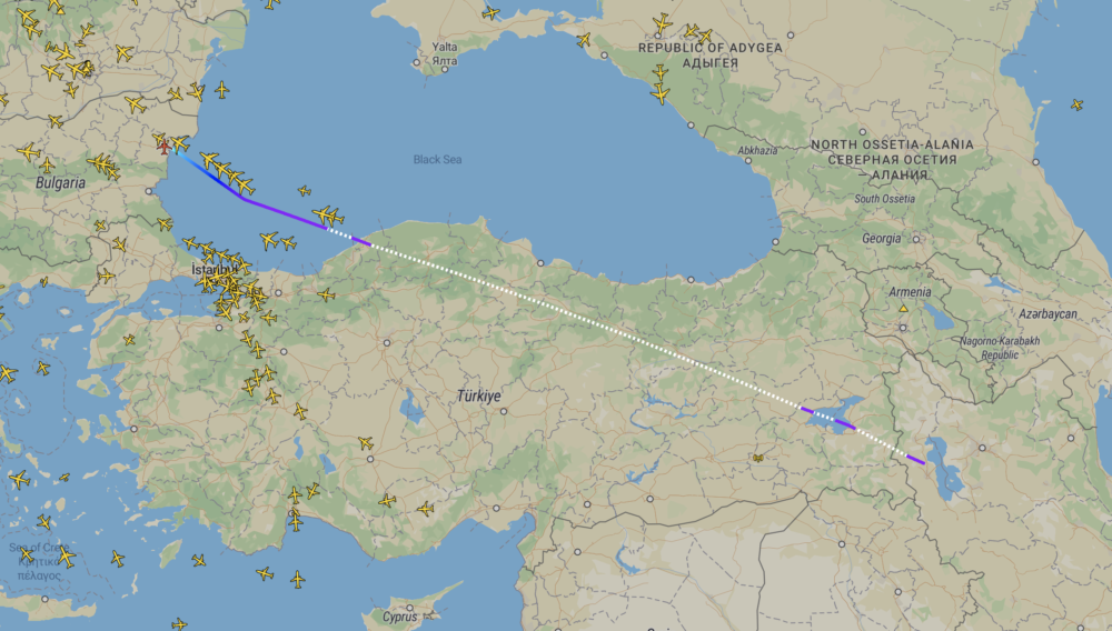 The Mystery Of Fly Armenia's 'Missing' Boeing 737 Now In Iran
