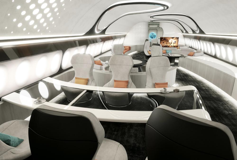 ACJ330neo interior