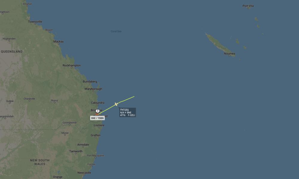 Air Calédonie Sends ATR Aircraft To Australia To Escape Cyclone