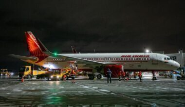 Air India, Moscow, Airbus A320neo