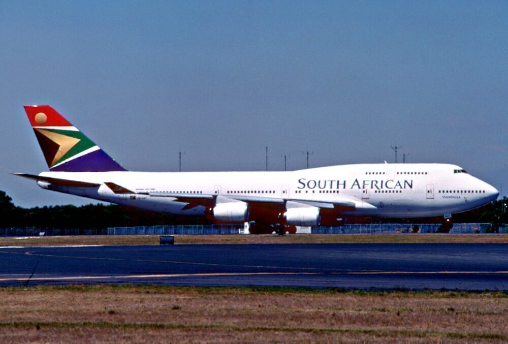South African Airways 747