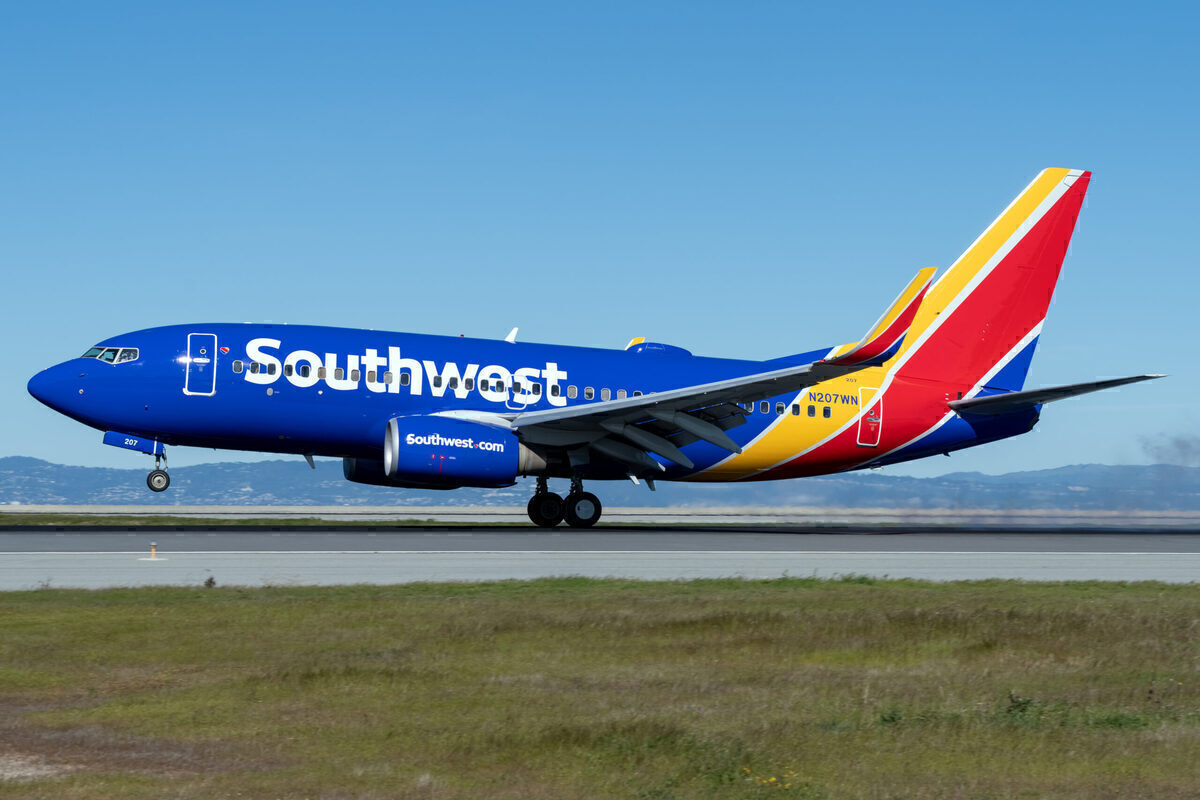 Southwest Airlines Receives The Final $860m In Government Aid