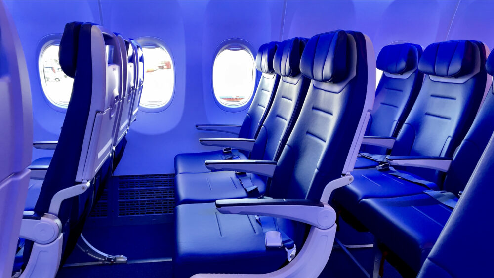 Southwest Airlines Boeing 737 MAX Cabin
