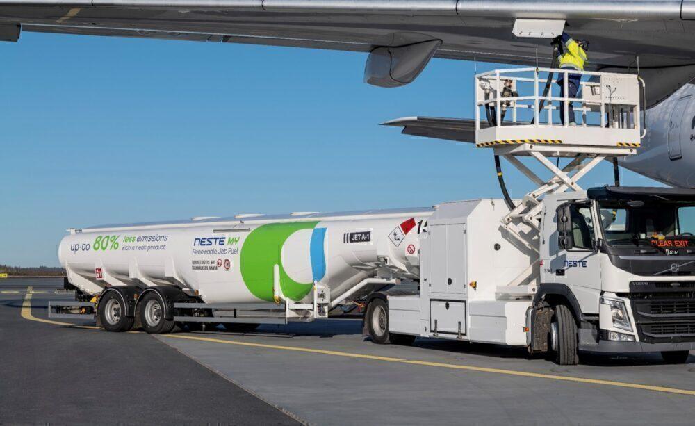 Nestes biofuel truck