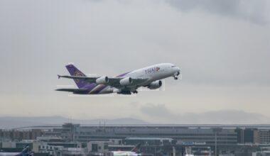 Thai Airbus A380 Frankfurt