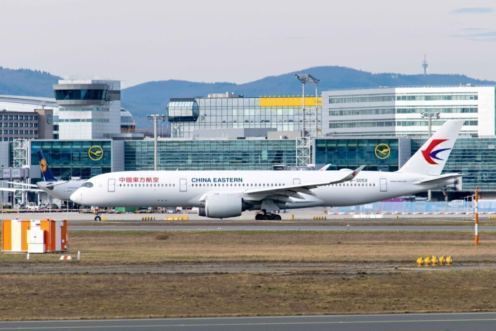 China Eastern A350 Frankfurt