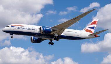 British Airways, Widebody, Short haul