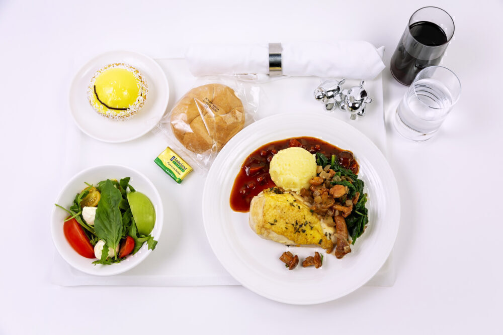Virgin Atlantic New Upper Class Menu