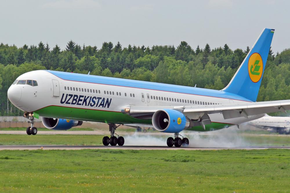 Uzbekistan Airways 767