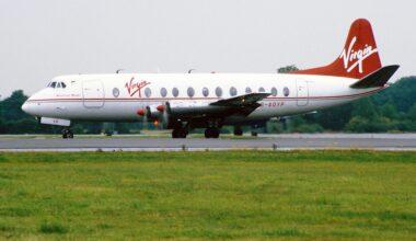 Virgin atlantic Vickers Viscount