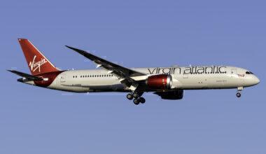 Virgin Atlantic New Upper Class Menu