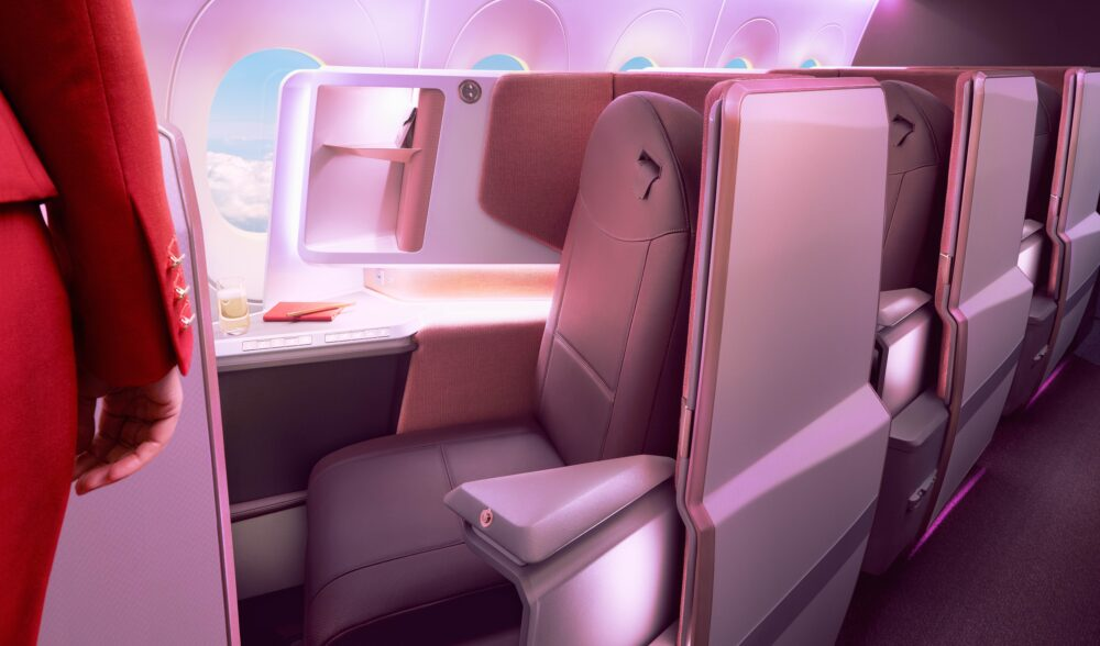 Virgin Atlantic A350-1000 Upper Class