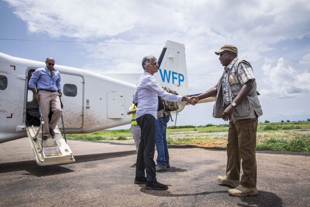 WFP Plane