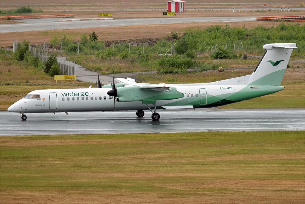 Wideroe Dash 8 400