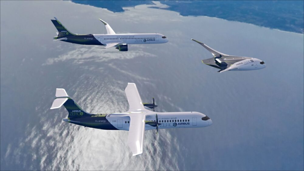 ZEROe aircraft