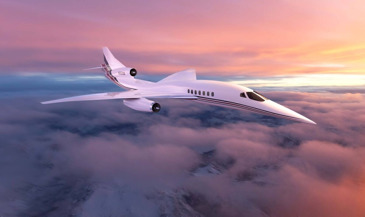 NetJets Signs MOU For 20 Aerion AS2 Supersonic Jets