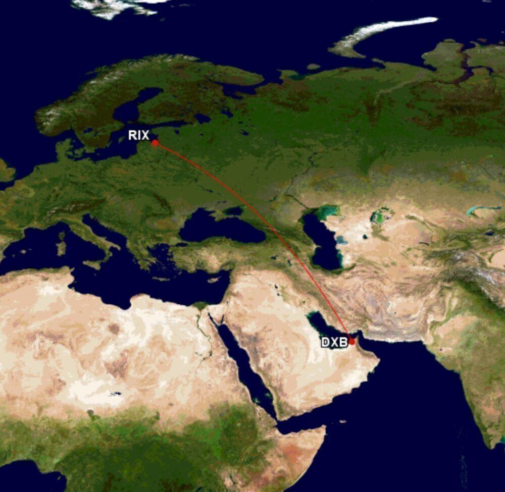 airBaltic to Dubai