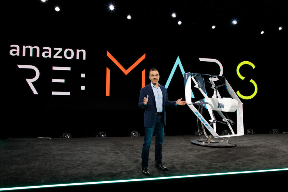 Amazon drone program