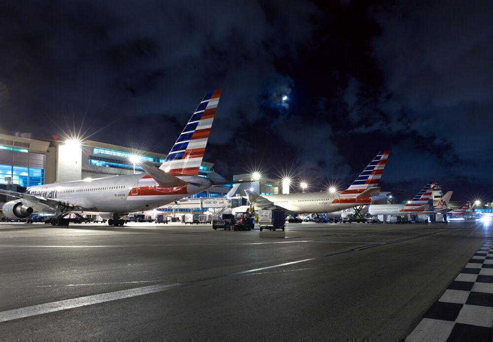 American planes Miami