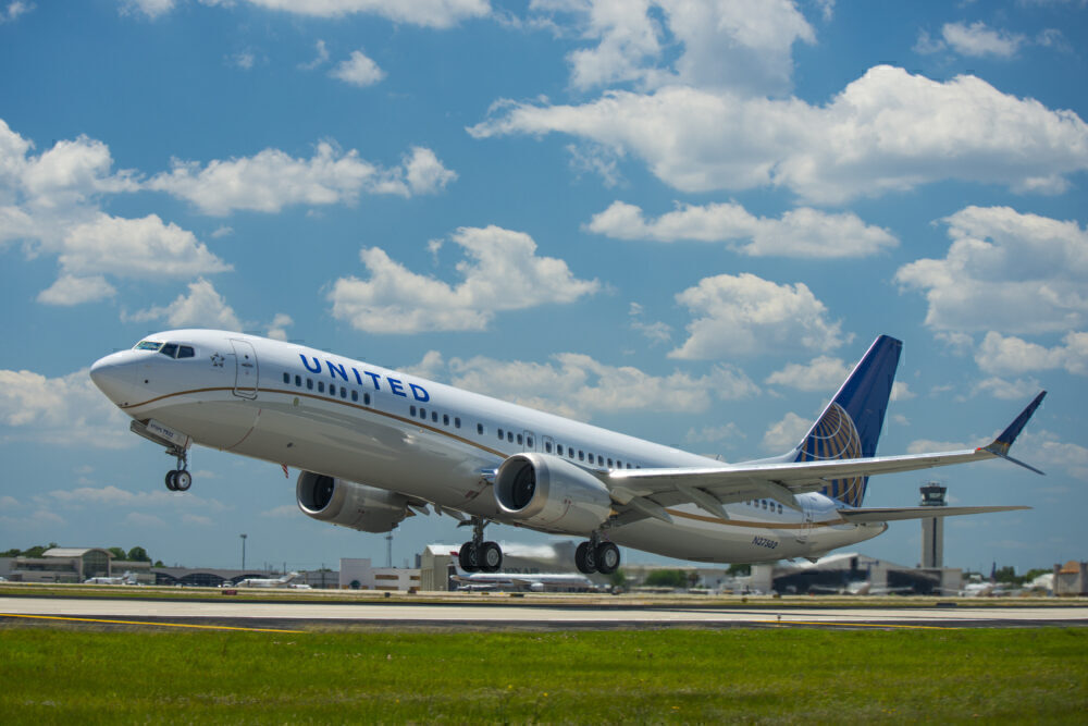 United Airlines Boeing 737 MAX