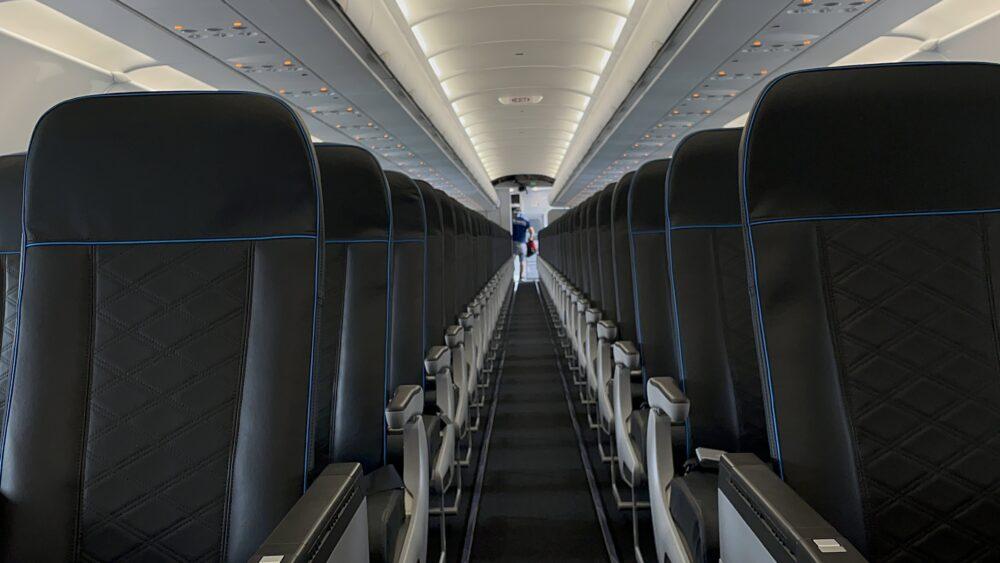 Frontier new seats