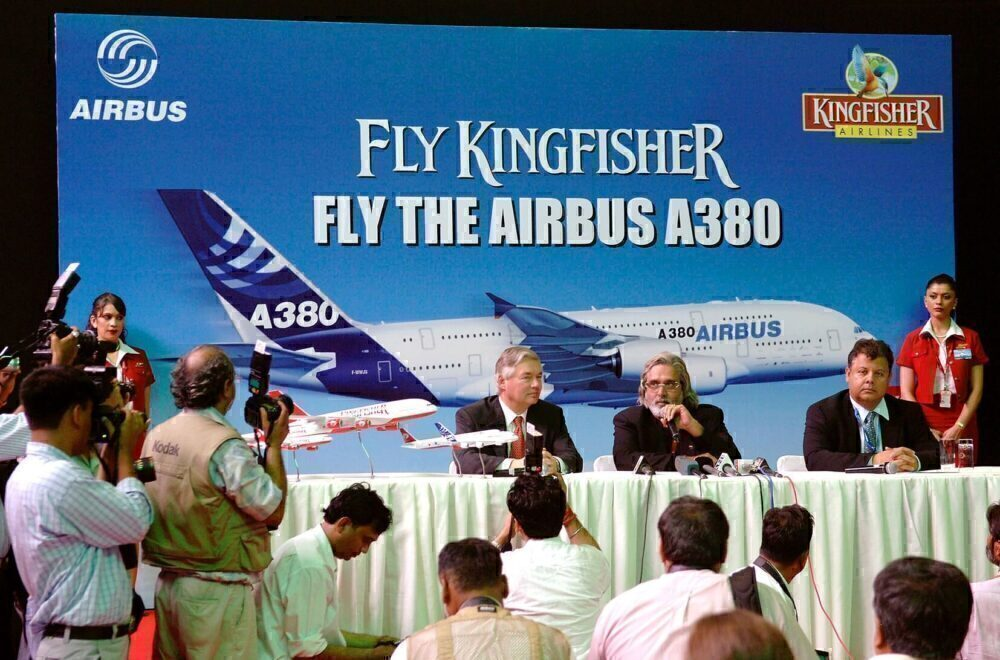 Kingfisher A380 Vijay Mallya