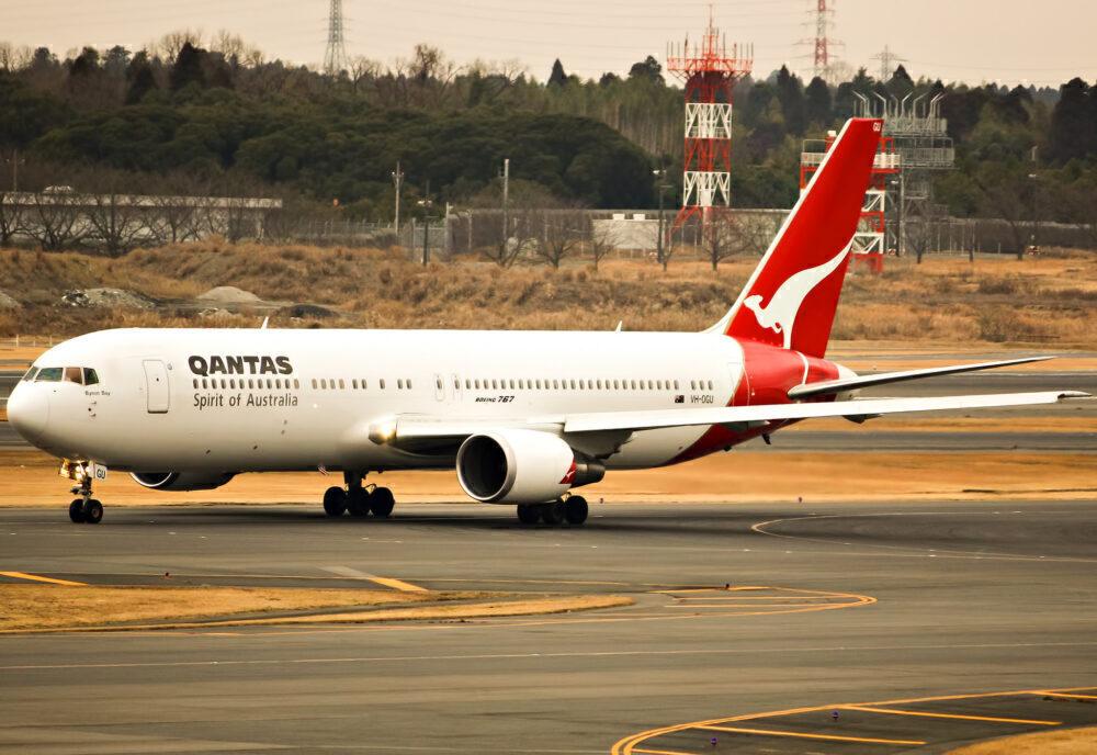 Qantas Boeing 767