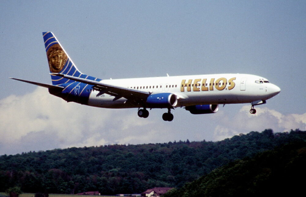 Helios Boeing 737