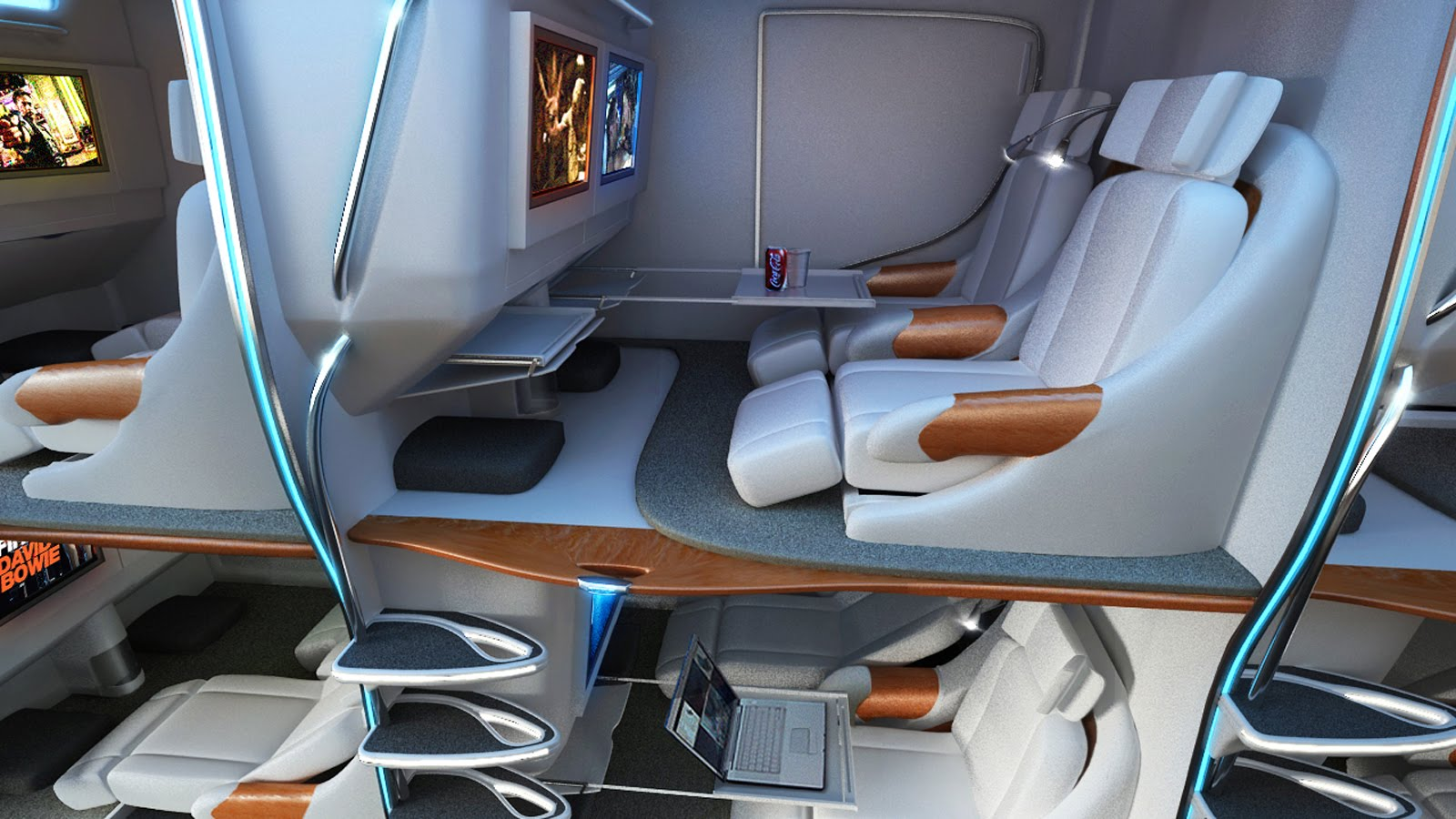A Hotel In The Sky: Are Double Decker Airline Beds The Future?