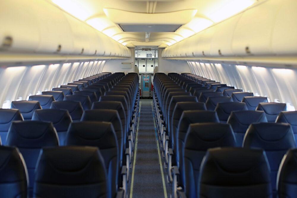 Avelo Boeing 737 Interior