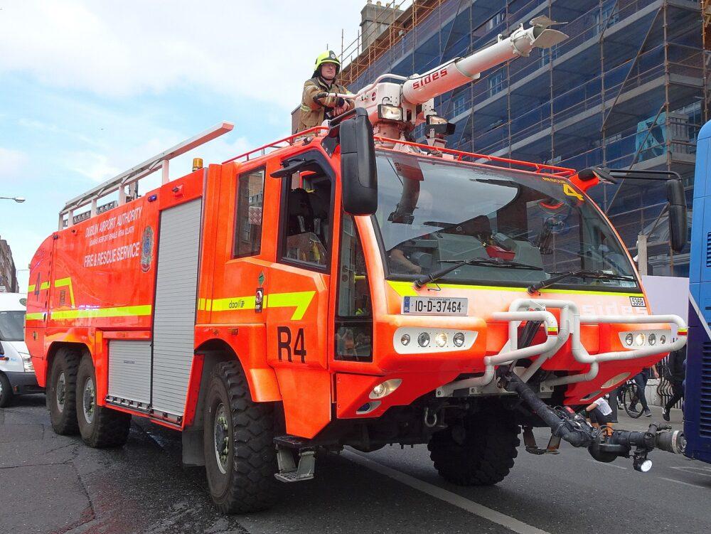 Fire truck Dublin