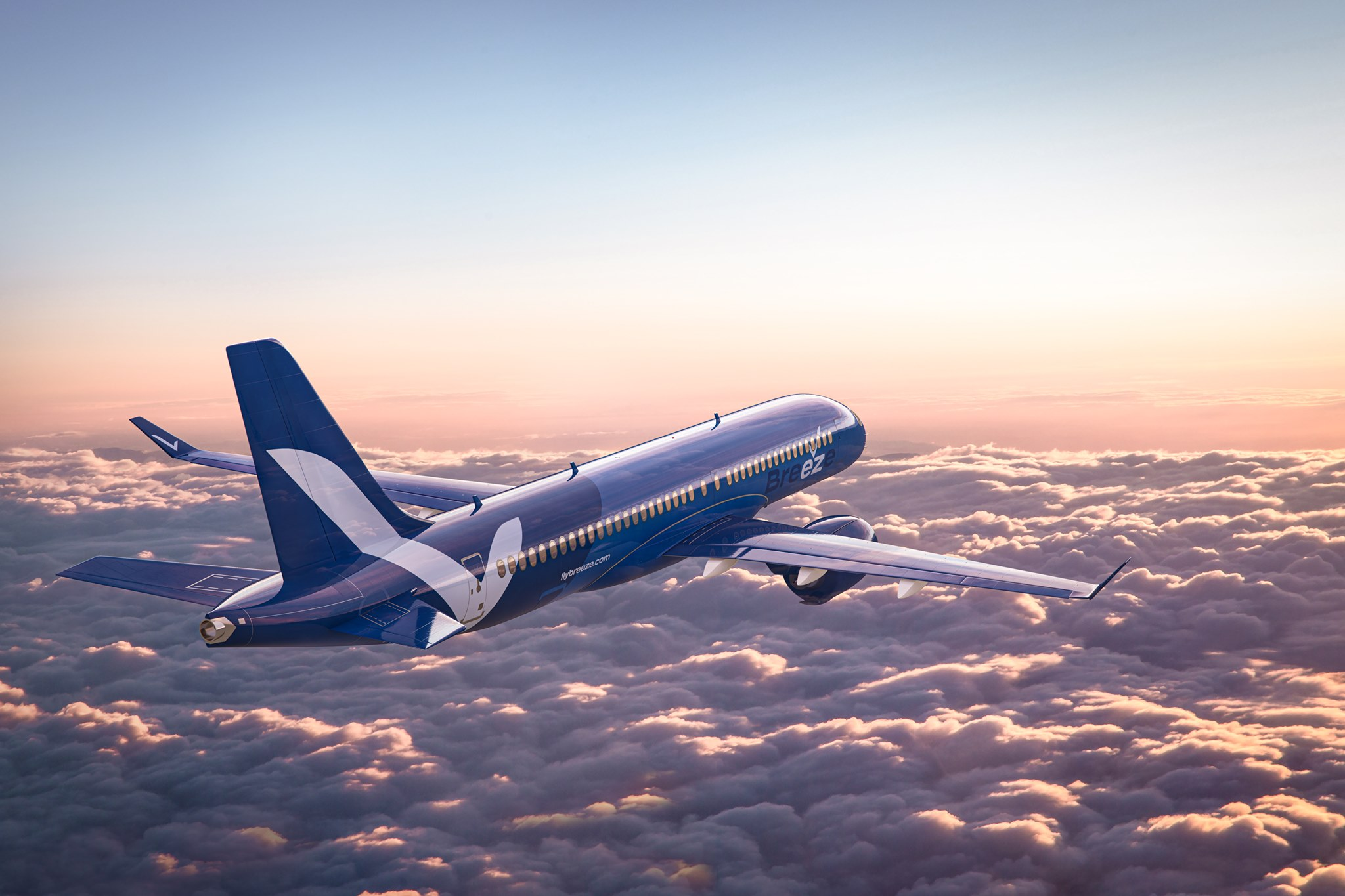 Wow: 80% Of Breeze Airways' Summer Routes Have No Competition - Simple Flying