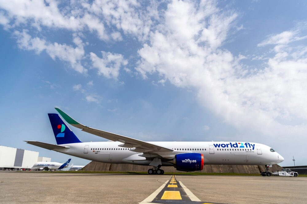 World2Fly Airbus A350