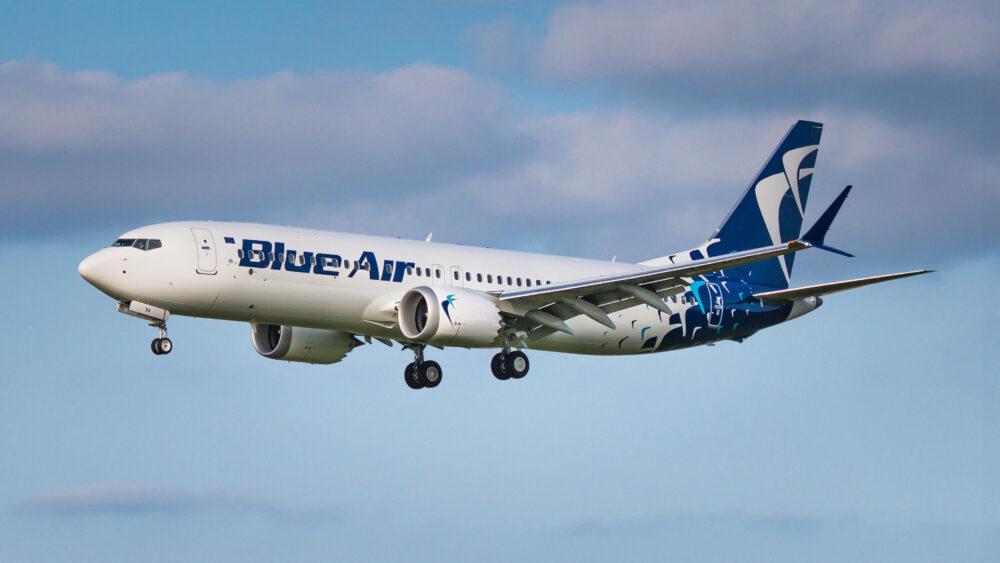 Blue Air 737 MAX