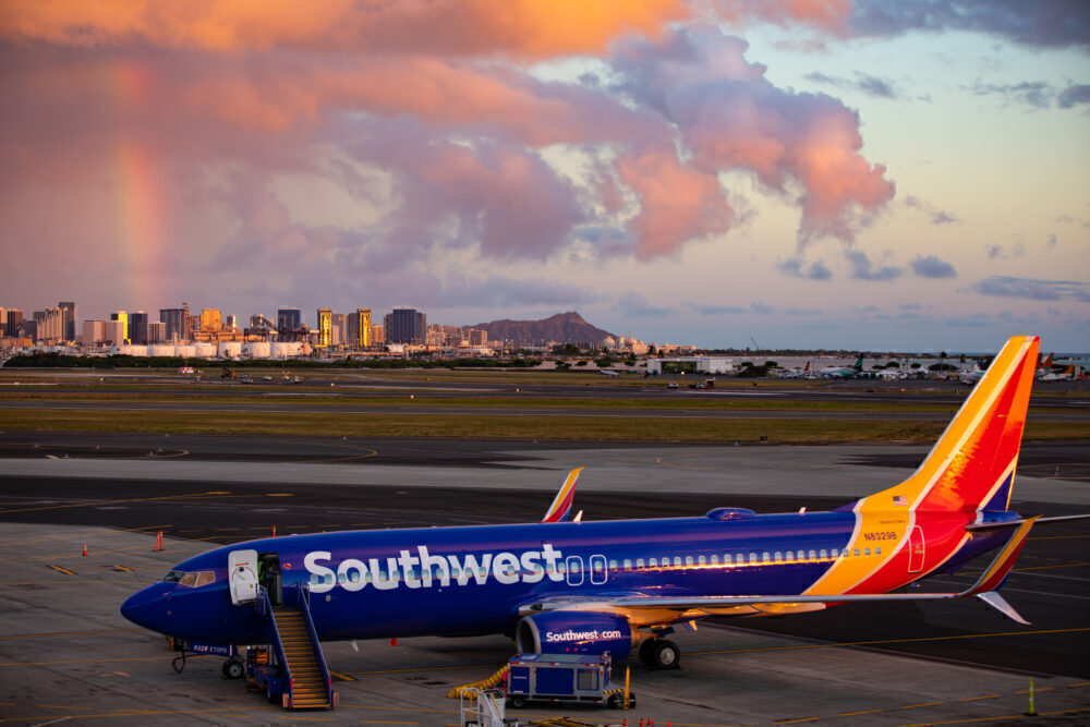 Southwest proving flight